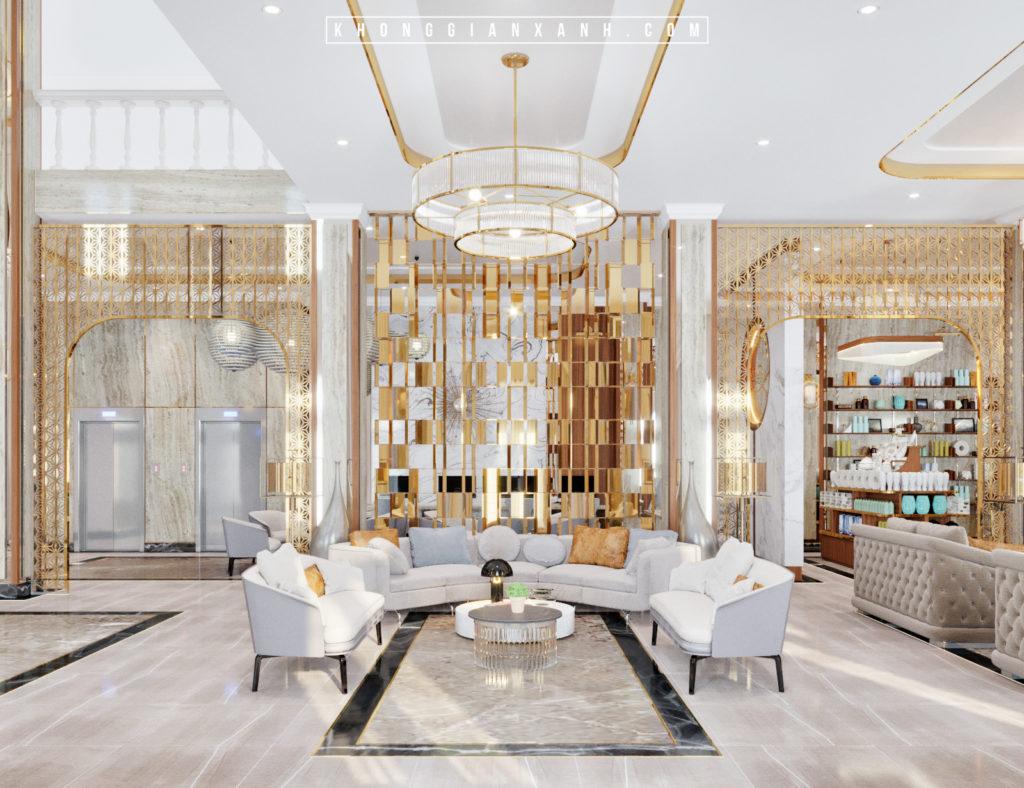 phong cách thiết kế khách sạn