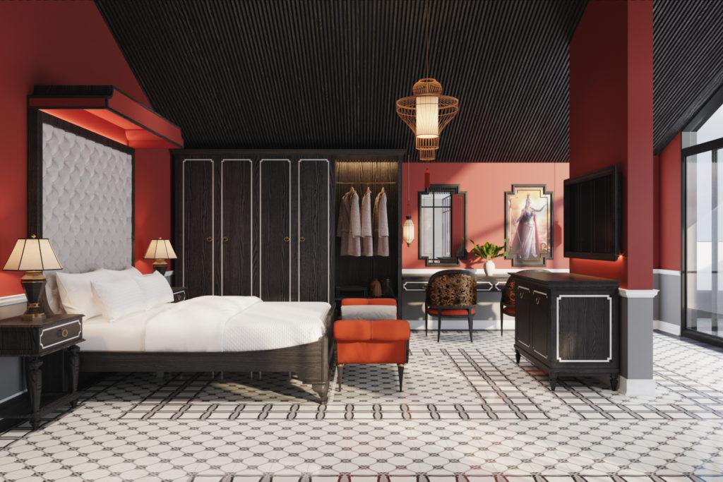số lượng phòng trong thiết kế khách sạn