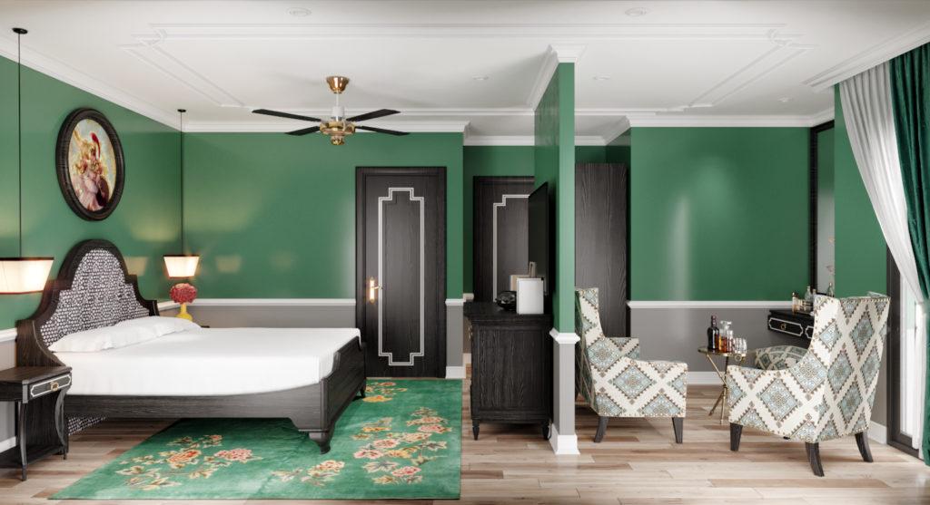 số phòng trong thiết kế khách sạn
