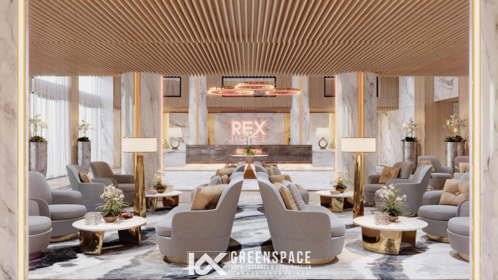 thiết kế khách sạn theo khu vực