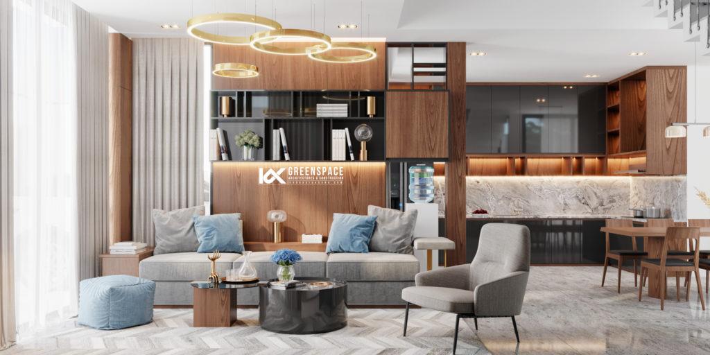 Thiết kế nội thất nhà phố Hội An