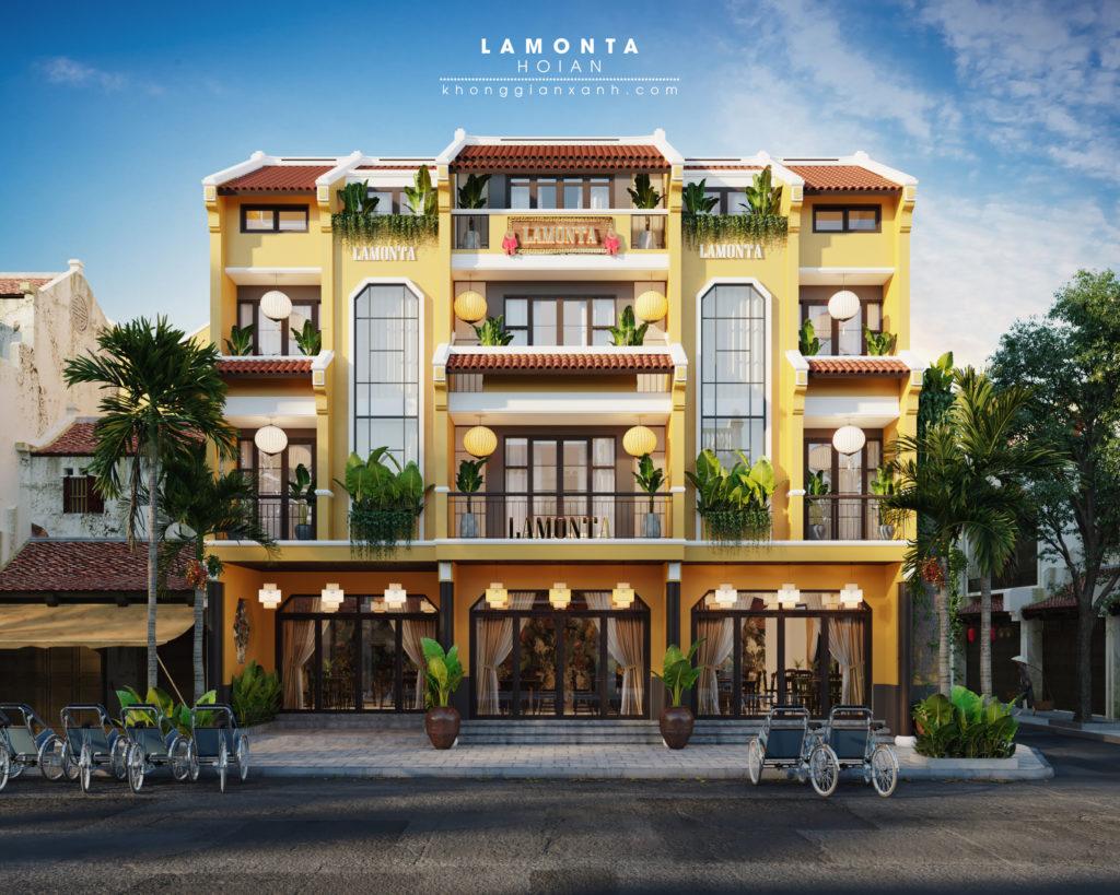 công ty thiết kế xây dựng khách sạn