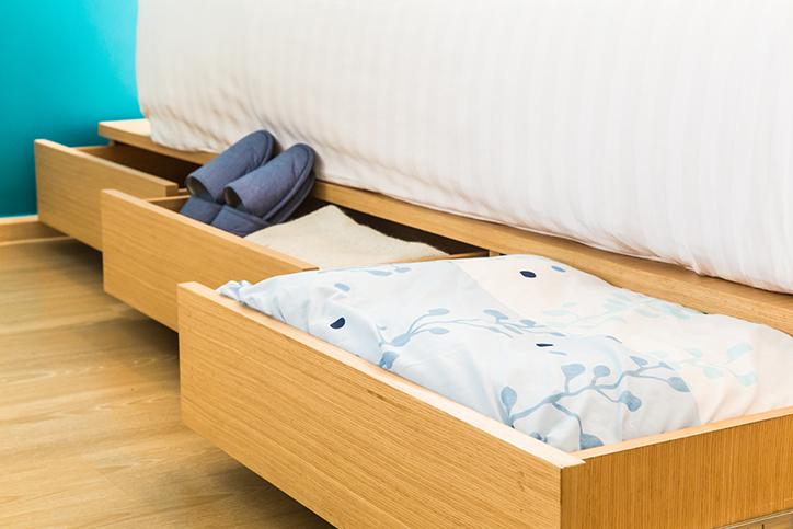 giường ngủ tích hợp ngăn kéo