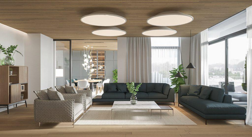kết hợp nhiều phong cách trong thiết kế nội thất