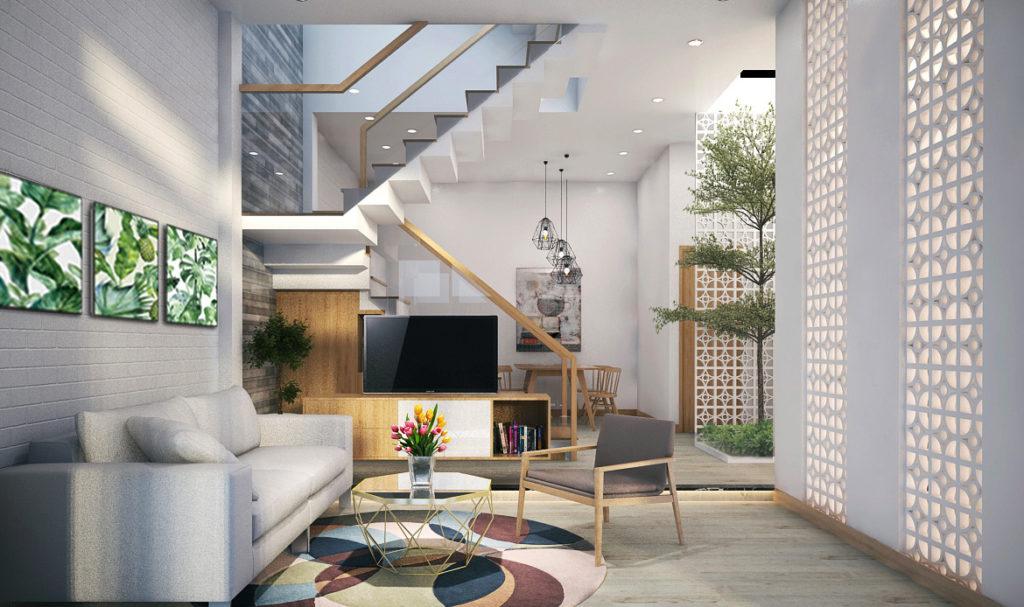 nhà phố phong cách tối giản xu hướng được ưa chuộng nhất 2020