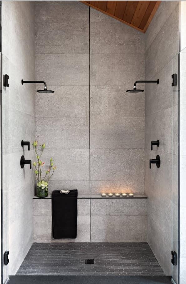 phòng tắm vòi hoa sen