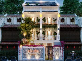 Thiết kế cải tạo khách sạn Hòa Bình - Hội An