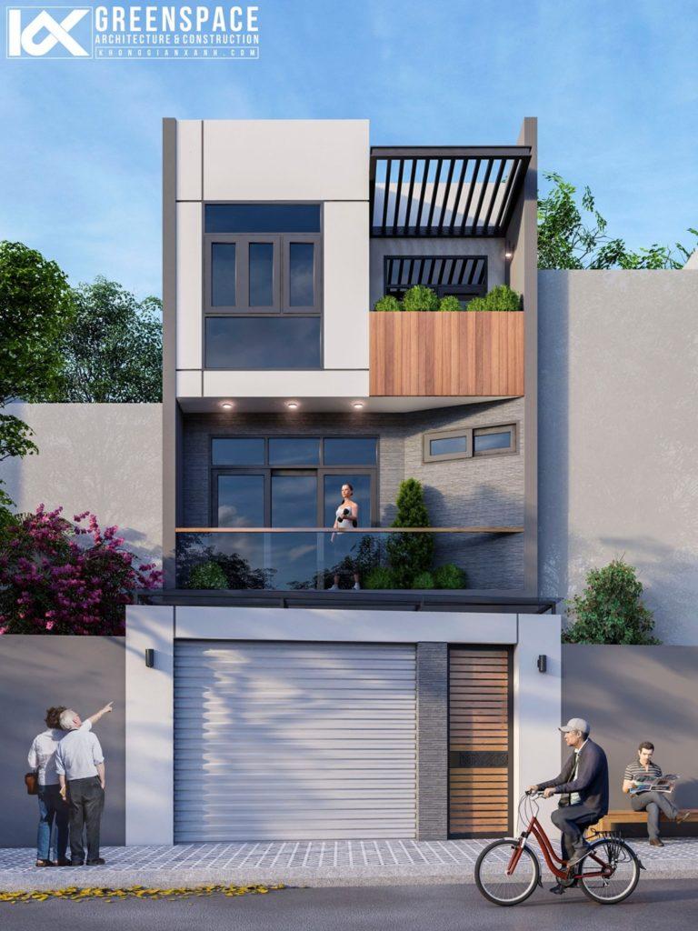 thiết kế nhà phố quận 9 hồ chí minh