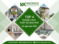 top 4 phong cách thiết kế nhà phố lên ngôi năm 2020
