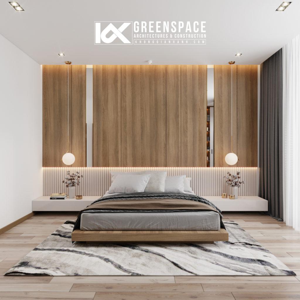 vị trí đặt giường ngủ trong phòng
