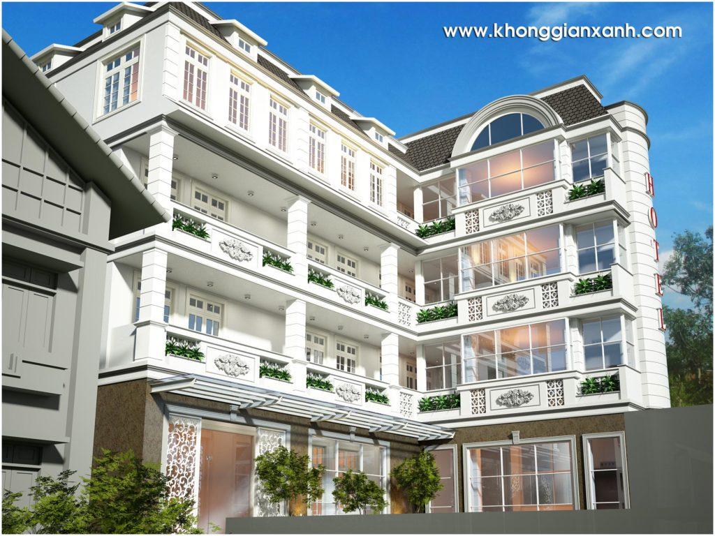 xây dựng một khách sạn thành công