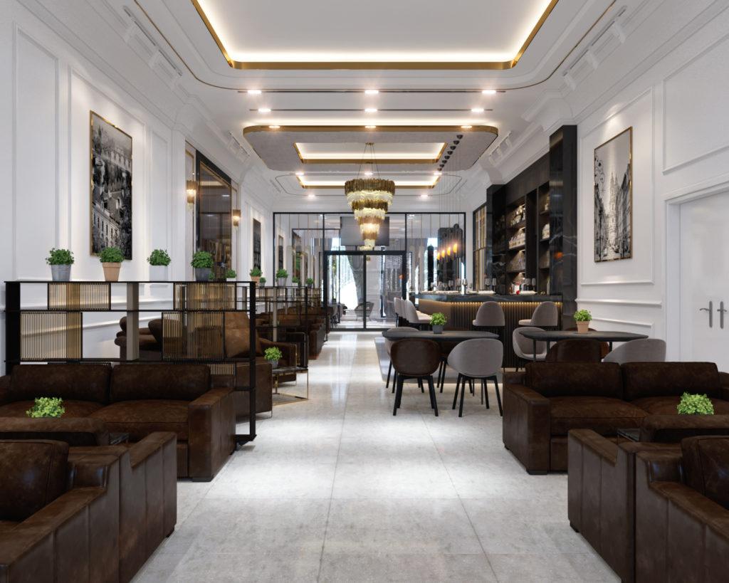 yếu tố thẩm mỹ trong thiết kế khách sạn