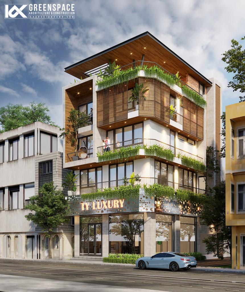 Cải tạo nhà phố 5 tầng – Vũng Tàu