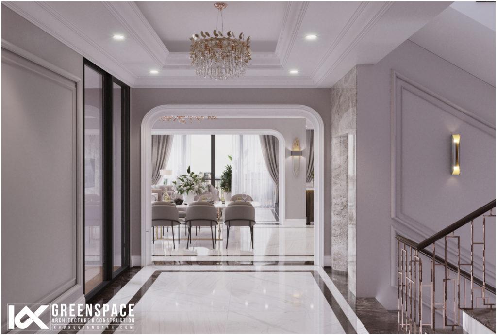 Nội thất nhà phố Vũng Tàu – Sự tinh tế trong vẻ đẹp tân cổ