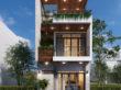 Thiết kế nhà phố mặt tiền 5m - Vũng Tàu