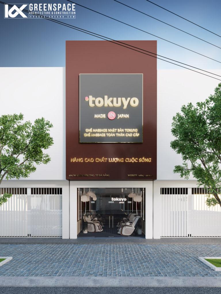 Thiết kế Showroom Tokuyo Đà Nẵng