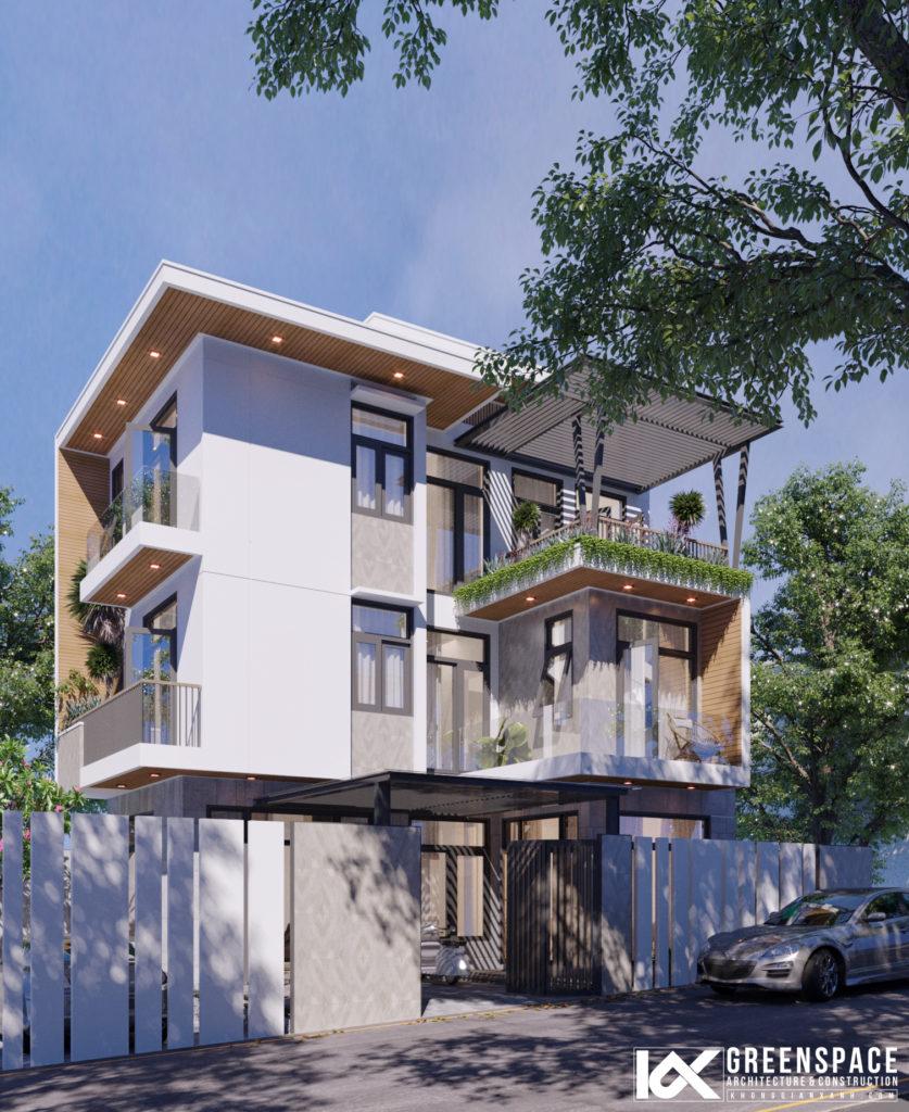 Nhà phố trên núi – Phong cách hiện đại đẳng cấp