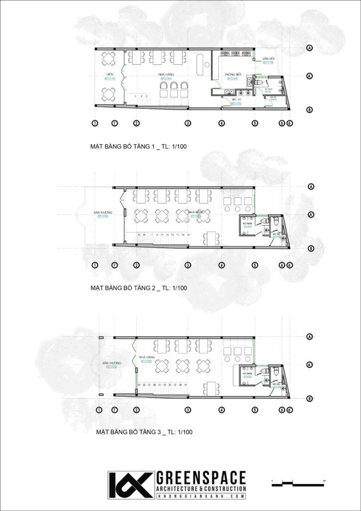 Thiết kế nhà hàng Hội An
