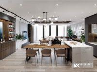 Thiết kế nội thất chung cư Gold Sea - Vũng Tàu
