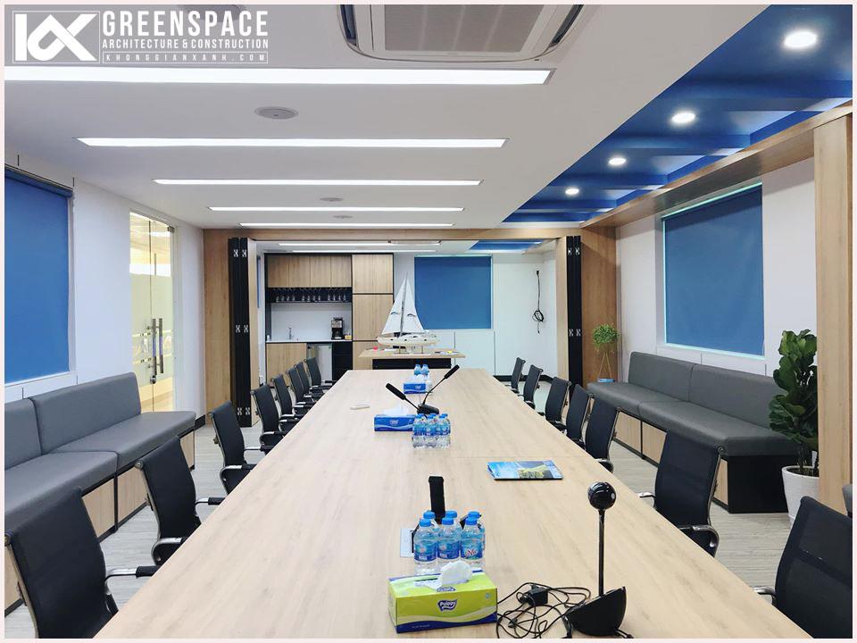 Thiết kế thi công nội thất văn phòng - Công ty Dầu Khí Miền Nam