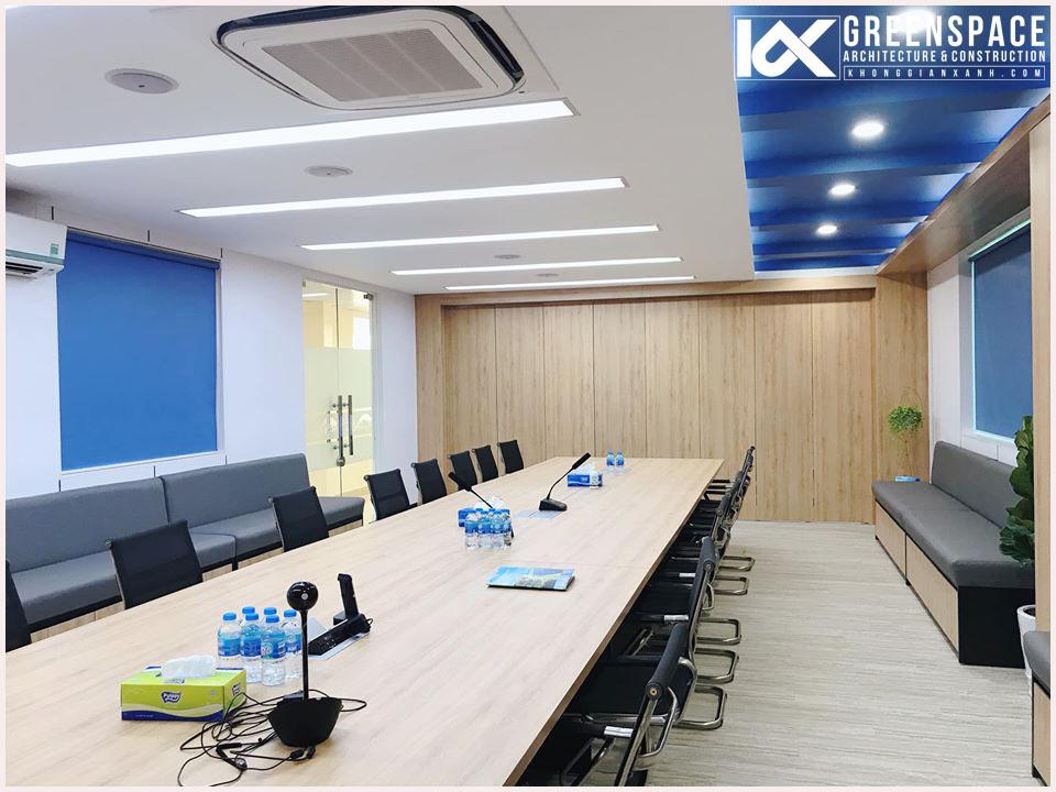 Thiết kế thi công nội thất văn phòng – Công ty Dầu Khí Miền Nam