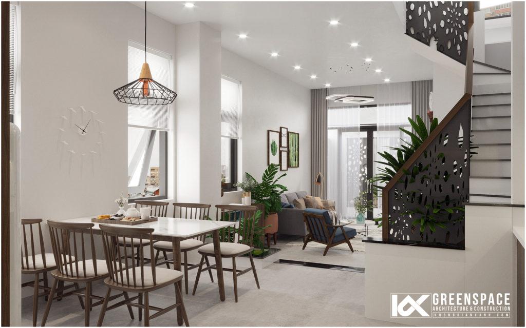 Nội thất nhà phố diện tích nhỏ – Phong cách hiện đại tối giản