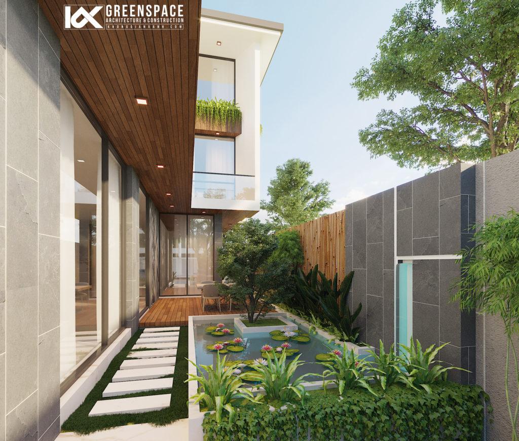 Thiết kế Biệt thự vườn hiện đại – Vũng Tàu