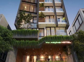 Thiết kế khách sạn hiện đại - tiêu chuẩn tiện nghi độc đáo