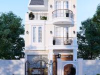 Thiết kế nhà phố tân cổ điển - Mặt tiền 7m