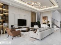 Thiết kế nội thất villa Vũng Tàu - Phong cách hiện đại thoáng đãng