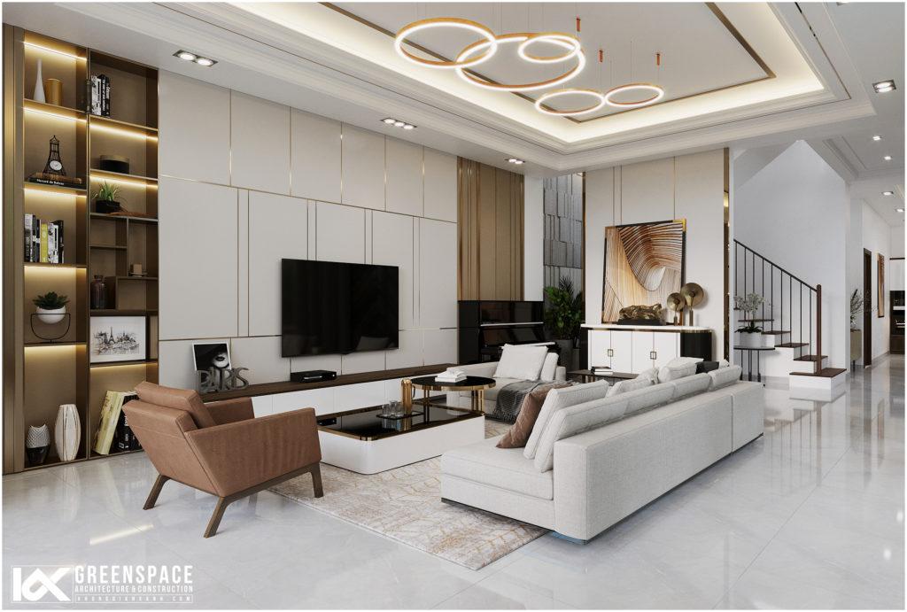 Thiết kế nội thất villa Vũng Tàu – Phong cách hiện đại thoáng đãng