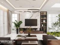 Cải tạo nội thất nhà phố tân cổ điển - Vẻ đẹp tinh tế thoáng đãng
