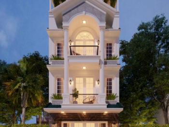 Nhà phố tân cổ điển - nét đẹp tinh tế sang trọng