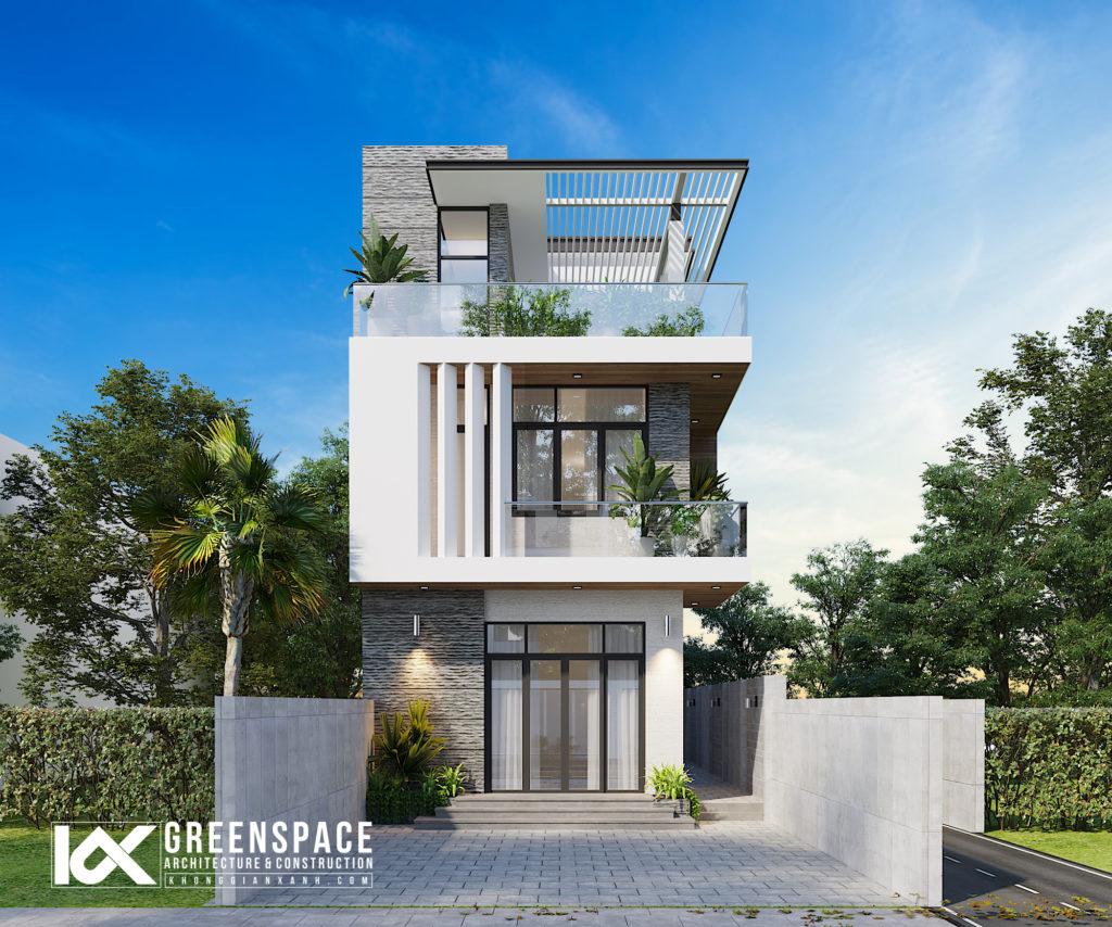 Thiết kế nhà phố mặt tiền 7m – Nơi bình yên gọi về