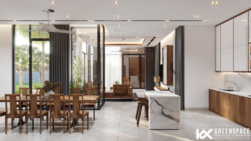 Thiết kế nội thất biệt thự vườn - Vũng Tàu