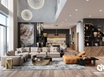 Thiết kế nội thất Penthouse Gateway Vũng Tàu
