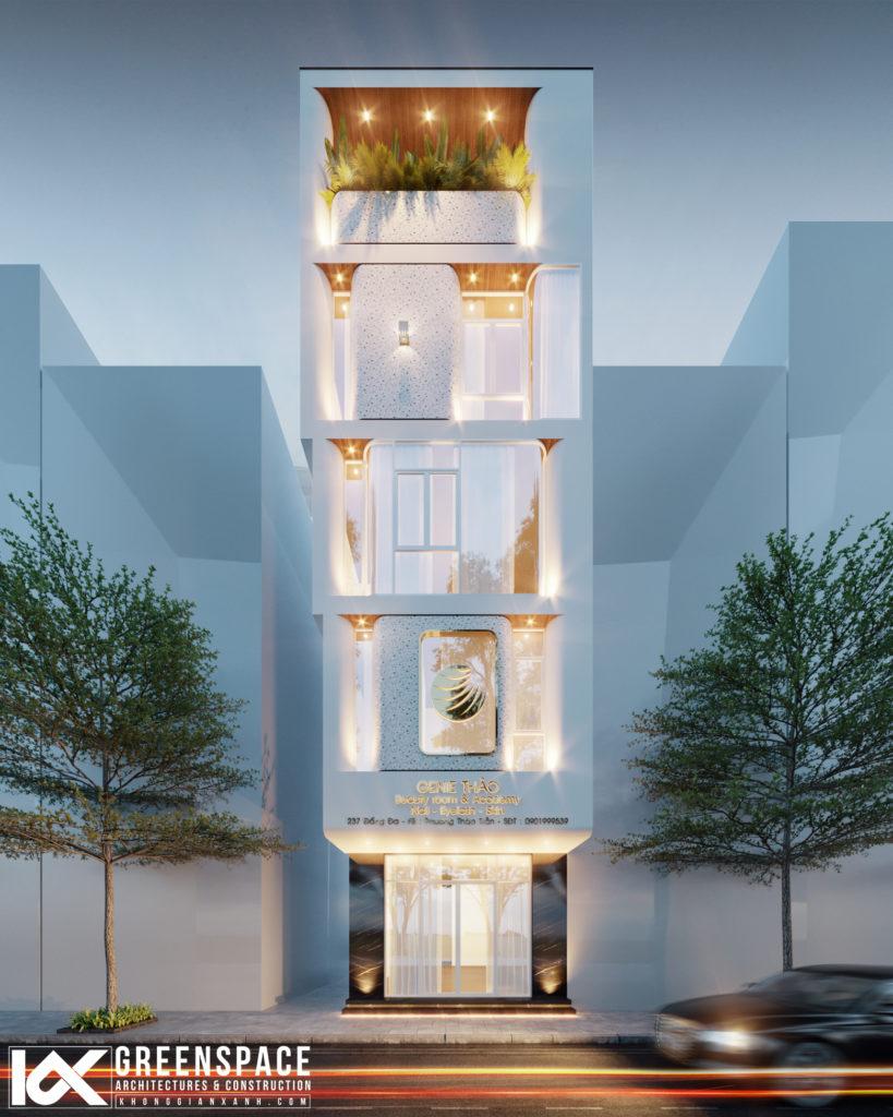 Kiến trúc nhà phố phá cách độc đáo - Nhà ở kết hợp kinh doanh
