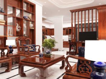 Thiết kế nội thất gỗ tự nhiên - Sự hòa trộn tinh tế từ gỗ với không gian