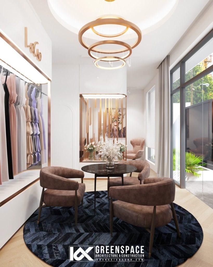 Thiết kế Showroom thời trang Vũng Tàu