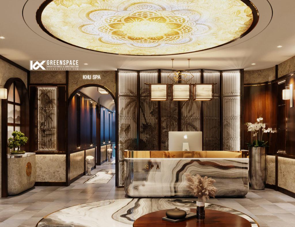 Thiết kế Spa tiêu chuẩn 5 sao – TP Đà Nẵng