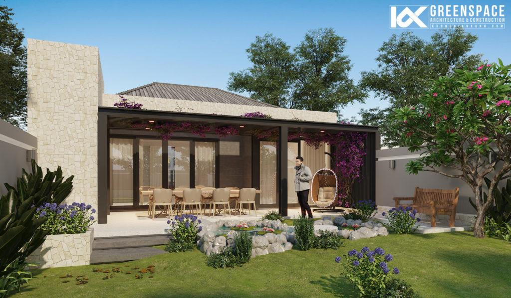 Biệt thự vườn thành phố Bà Rịa - Chốn nghỉ dưỡng thanh bình