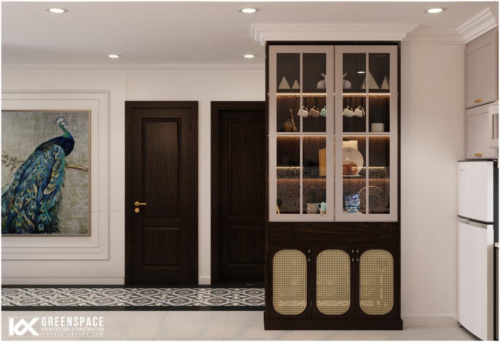 Thiết kế căn hộ phong cách Indochine – Sự giao thoa bản sắc độc đáo