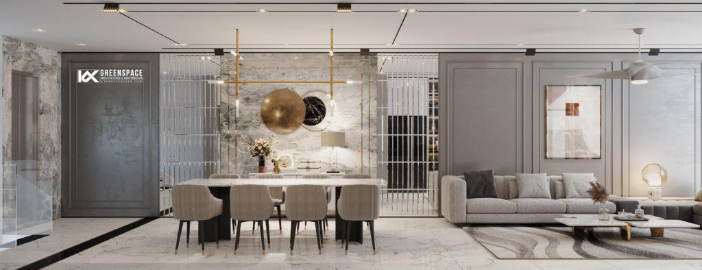 Thiết kế nội thất căn hộ - Nét đẹp sang trọng từ tone màu trung tính