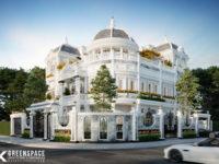 Thiết kế biệt thự phong cách cổ điển Châu Âu