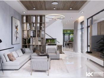 Thiết kế nội thất biệt thự hiện đại Vũng Tàu