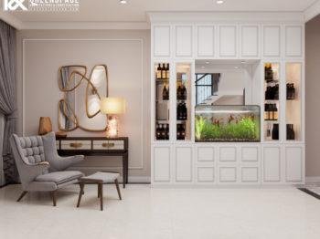 Thiết kế nội thất tân cổ điển - Nét đẹp nhẹ nhàng tinh tế