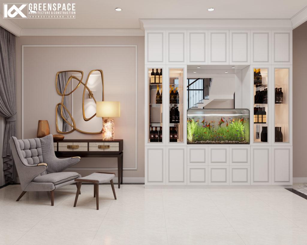 Thiết kế nội thất tân cổ điển – Nét đẹp nhẹ nhàng tinh tế