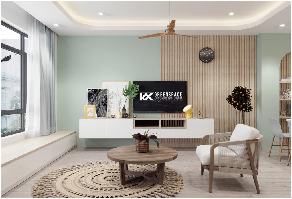 Thiết kế nội thất tone màu Pastel