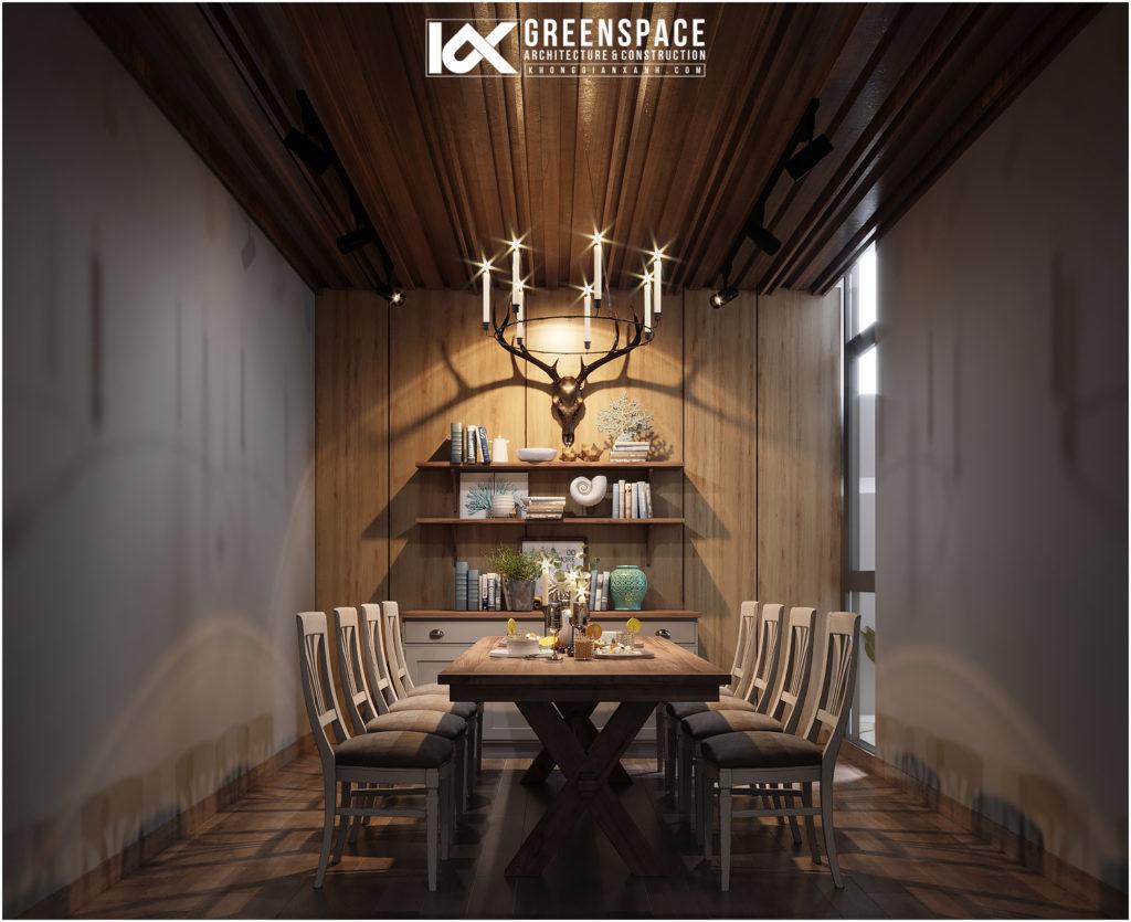 Nội thất biệt thự vườn – Sự hòa trộn của nhiều phong cách thiết kế