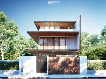 Thiết kế biệt thự hiện đại Đà Nẵng - Ngôi nhà ngập tràn ánh nắng
